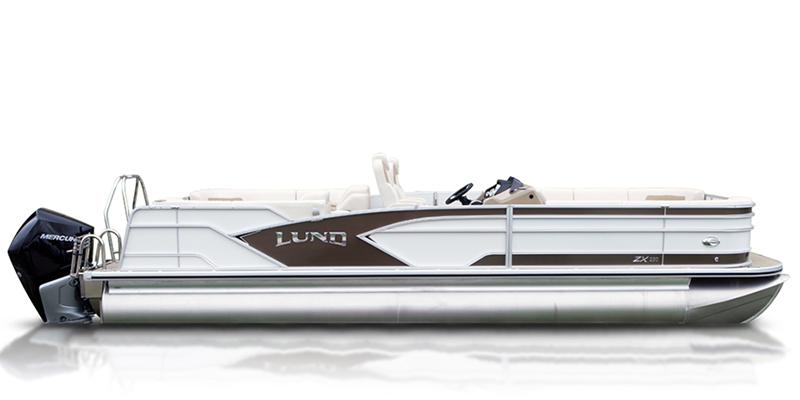 ZX 250 Pontoon Boat Walk Thru Dual Seat at Pharo Marine, Waunakee, WI 53597