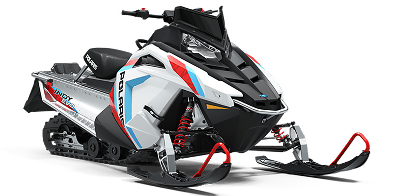 Snowmobile at Fort Fremont Marine