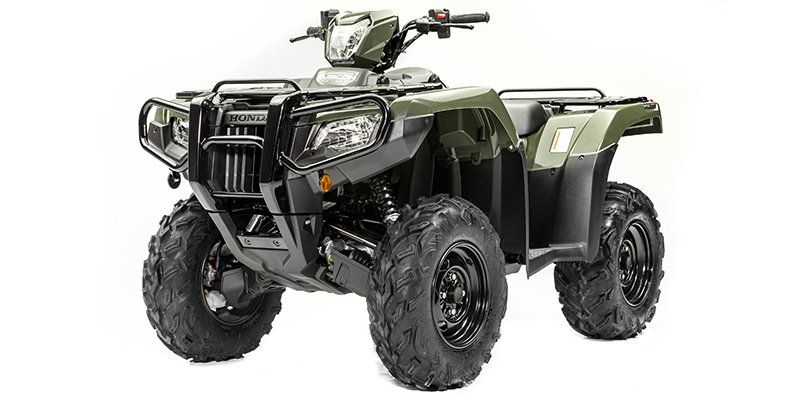 2020 Honda FourTrax Foreman Rubicon 4x4 Automatic DCT at Genthe Honda Powersports, Southgate, MI 48195