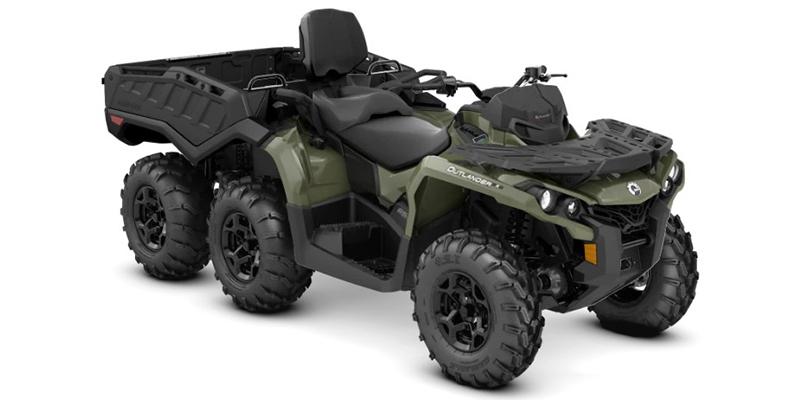 2020 Can-Am Outlander MAX 6x6 DPS 650 at Sloans Motorcycle ATV, Murfreesboro, TN, 37129