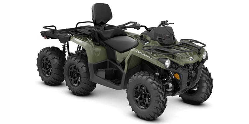 2020 Can-Am Outlander MAX 6x6 DPS 450 at Sloans Motorcycle ATV, Murfreesboro, TN, 37129