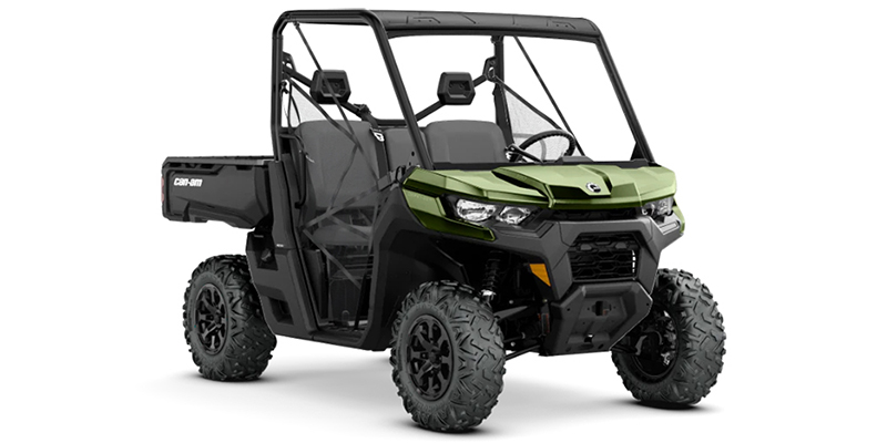 2020 Can-Am Defender DPS HD8 at Wild West Motoplex