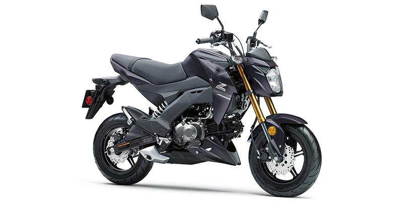 2020 Kawasaki Z125 PRO Base at Sloans Motorcycle ATV, Murfreesboro, TN, 37129