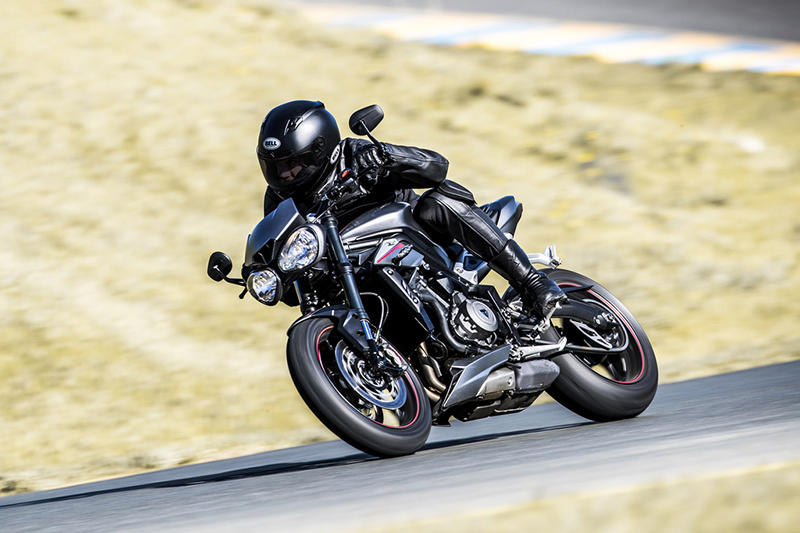 2020 Triumph Street Triple RS at Frontline Eurosports