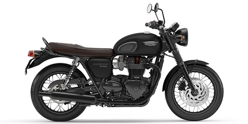 Bonneville T120 Black at Eurosport Cycle