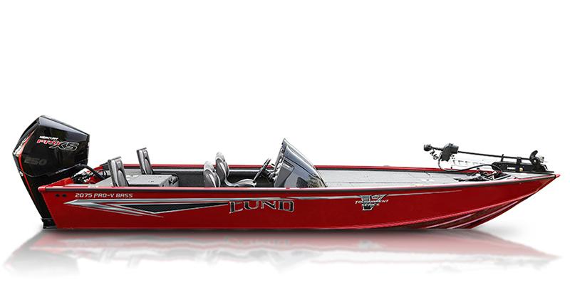 2020 Lund Pro-V Bass 2075 XS at Pharo Marine, Waunakee, WI 53597