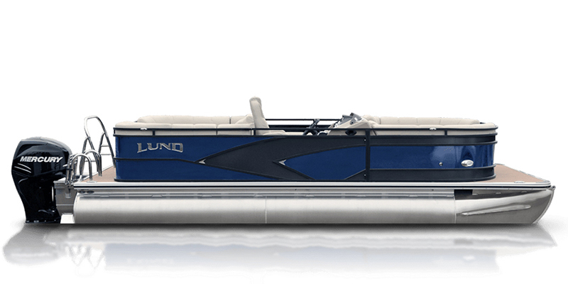 2020 Lund LX 220 Pontoon Boat Walk Thru at Pharo Marine, Waunakee, WI 53597