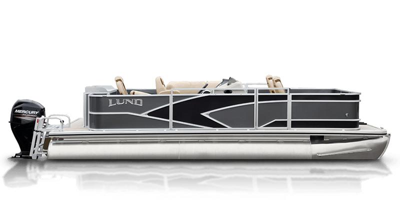 2020 Lund LX 240 Pontoon Boat 4 Point Fish at Pharo Marine, Waunakee, WI 53597