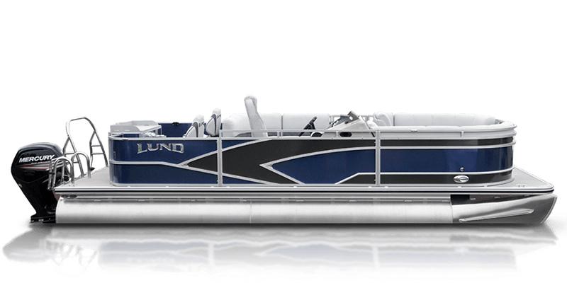 2020 Lund LX 240 Pontoon Boat Fish and Cruise at Pharo Marine, Waunakee, WI 53597