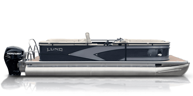 2020 Lund LX 240 Pontoon Boat Walk Thru at Pharo Marine, Waunakee, WI 53597