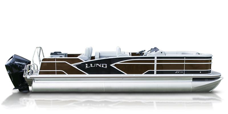 2020 Lund ZX 230 Pontoon Boat Fish and Cruise at Pharo Marine, Waunakee, WI 53597