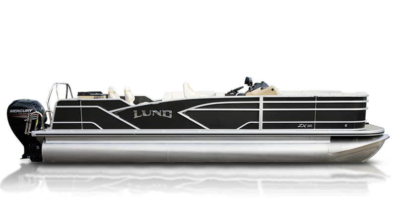 2020 Lund ZX 250 Pontoon Boat Fish and Cruise at Pharo Marine, Waunakee, WI 53597