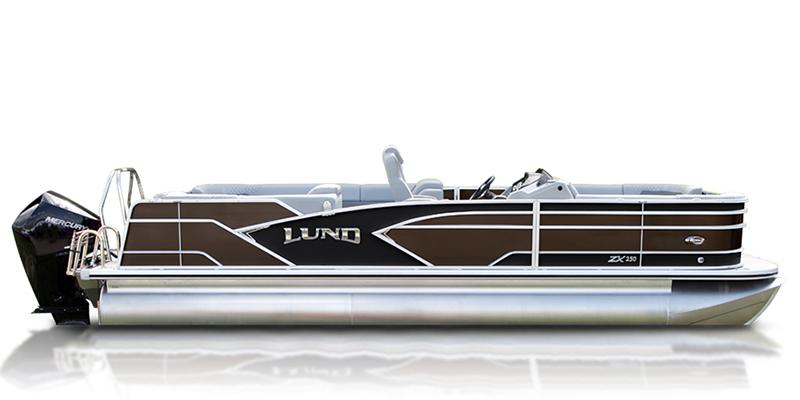 2020 Lund ZX 250 Pontoon Boat Walk Thru at Pharo Marine, Waunakee, WI 53597