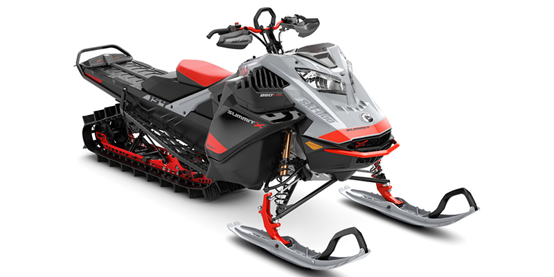 Summit X with Expert Package 850 E-TEC® Turbo at Hebeler Sales & Service, Lockport, NY 14094