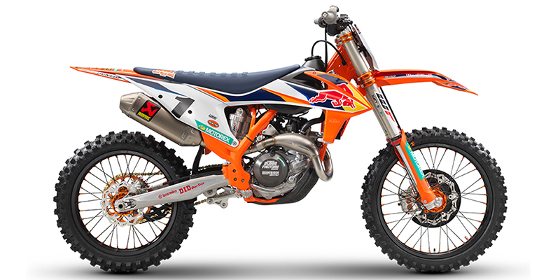 450 SX-F Factory Edition at Cascade Motorsports