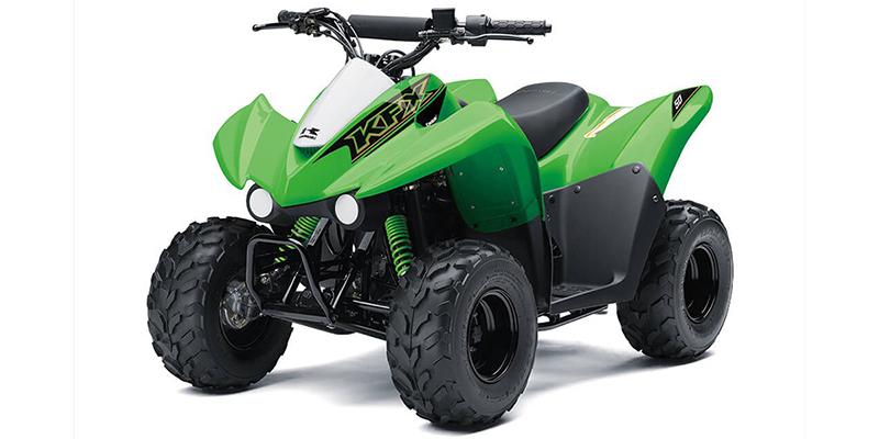 2021 Kawasaki KFX 50 at Jacksonville Powersports, Jacksonville, FL 32225
