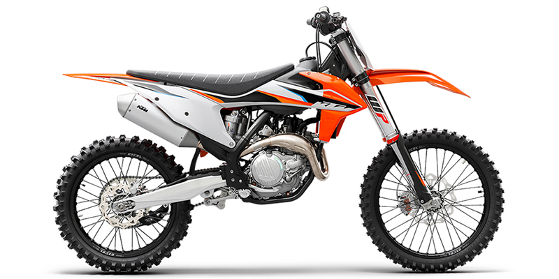 450 SX-F at Pitt Cycles