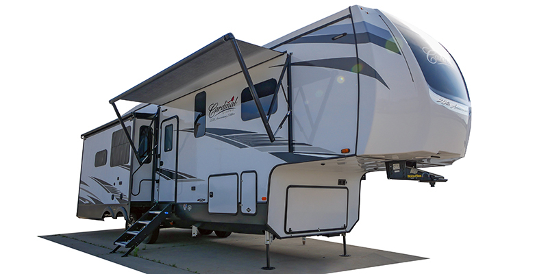 Cardinal 25th Anniversary Edition 370FLX at Prosser's Premium RV Outlet