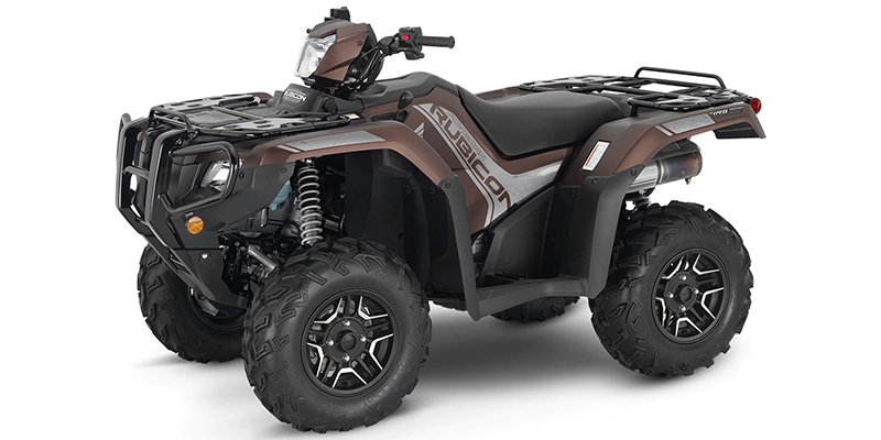 FourTrax Foreman® Rubicon 4x4 Automatic DCT EPS Deluxe at Kent Motorsports, New Braunfels, TX 78130