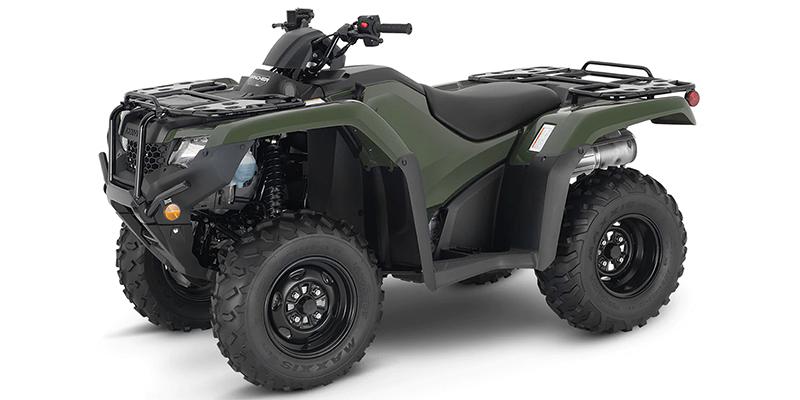 2021 Honda FourTrax Rancher 4X4 ES at Waukon Power Sports, Waukon, IA 52172