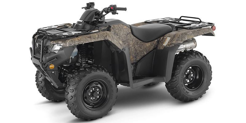 2021 Honda FourTrax Rancher® 4X4 Automatic DCT EPS at Sun Sports Cycle & Watercraft, Inc.