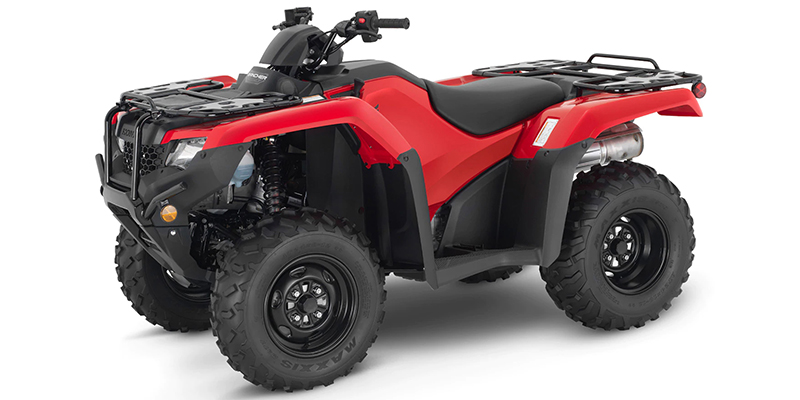 2021 Honda FourTrax Rancher 4X4 Automatic DCT EPS at Sloans Motorcycle ATV, Murfreesboro, TN, 37129