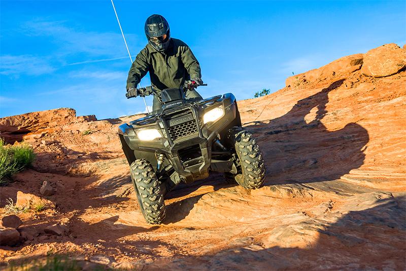 2021 Honda FourTrax Rancher 4X4 Automatic DCT IRS at Sloans Motorcycle ATV, Murfreesboro, TN, 37129