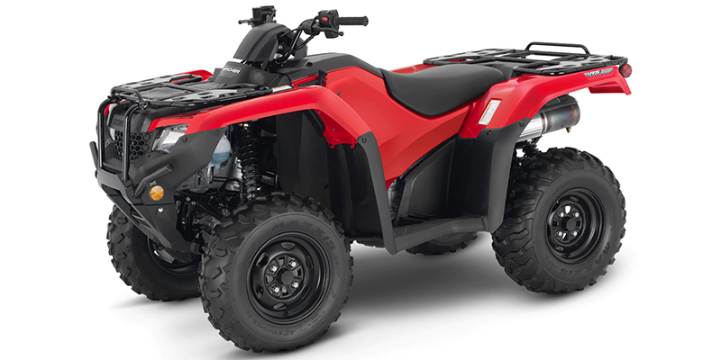 2021 Honda FourTrax Rancher 4X4 Automatic DCT IRS EPS at Kent Motorsports, New Braunfels, TX 78130