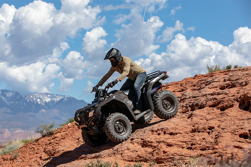 2021 Honda FourTrax Rancher® 4X4 Automatic DCT IRS EPS at Sun Sports Cycle & Watercraft, Inc.