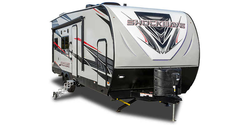 Shockwave 26QSG DX at Prosser's Premium RV Outlet