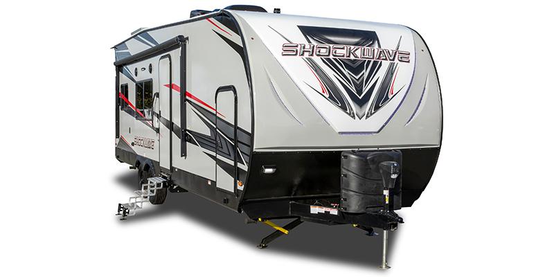 Shockwave 27RQG DX at Prosser's Premium RV Outlet