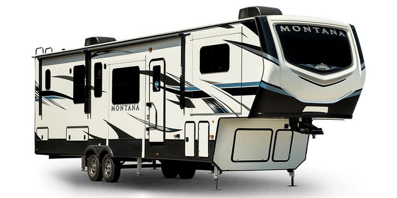 Montana 3855BR at Prosser's Premium RV Outlet