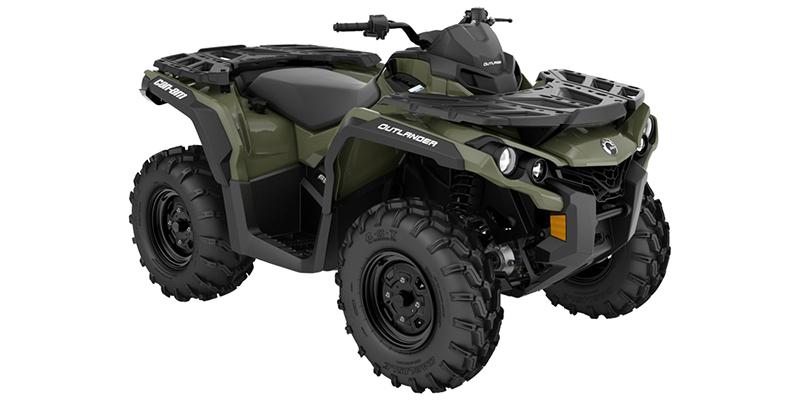 2021 Can-Am Outlander 650 at Sloans Motorcycle ATV, Murfreesboro, TN, 37129