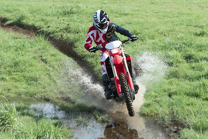 2021 Honda CRF 450RX at Sloans Motorcycle ATV, Murfreesboro, TN, 37129