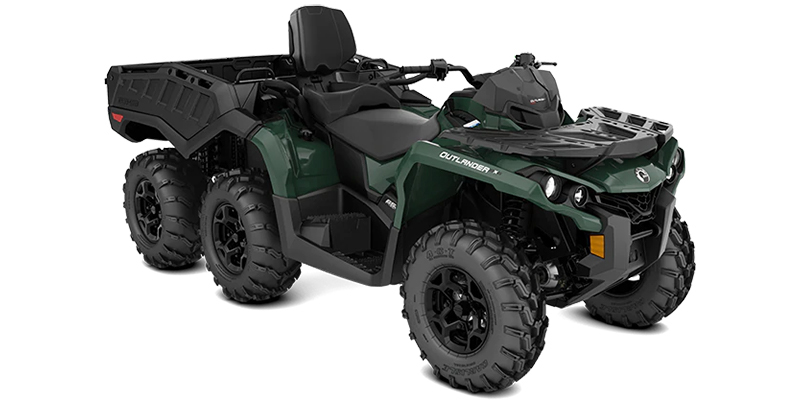 2021 Can-Am™ Outlander™ MAX 6x6 DPS 650 at Jacksonville Powersports, Jacksonville, FL 32225