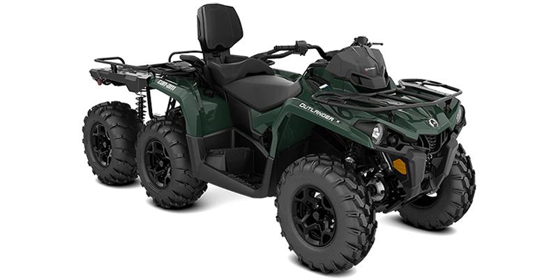 2021 Can-Am Outlander MAX 6x6 DPS 450 at Sloans Motorcycle ATV, Murfreesboro, TN, 37129