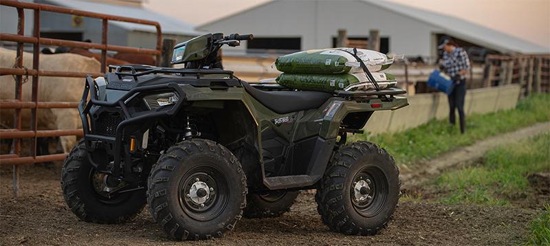 2021 Polaris Sportsman 450 HO EPS at Sloans Motorcycle ATV, Murfreesboro, TN, 37129