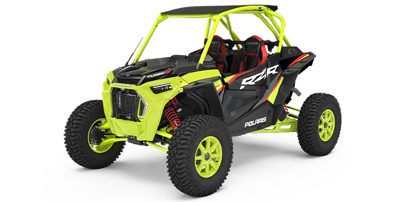 2021 Polaris RZR Turbo S Lifted Lime LE at DT Powersports & Marine
