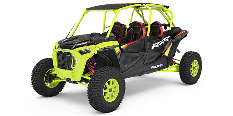 RZR® Turbo S 4 Lifted Lime LE at Midwest Polaris, Batavia, OH 45103