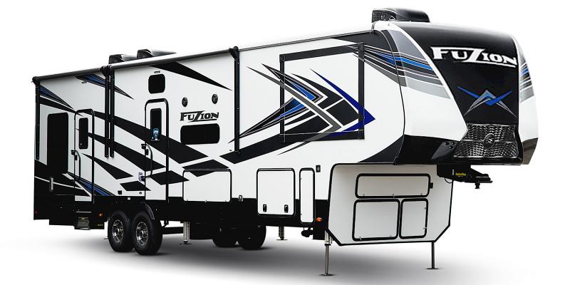 Fuzion 369 at Prosser's Premium RV Outlet