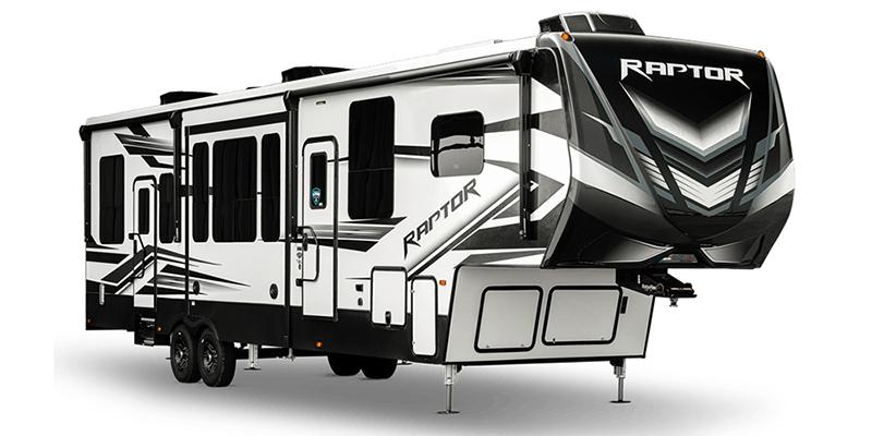 Raptor 413 at Prosser's Premium RV Outlet