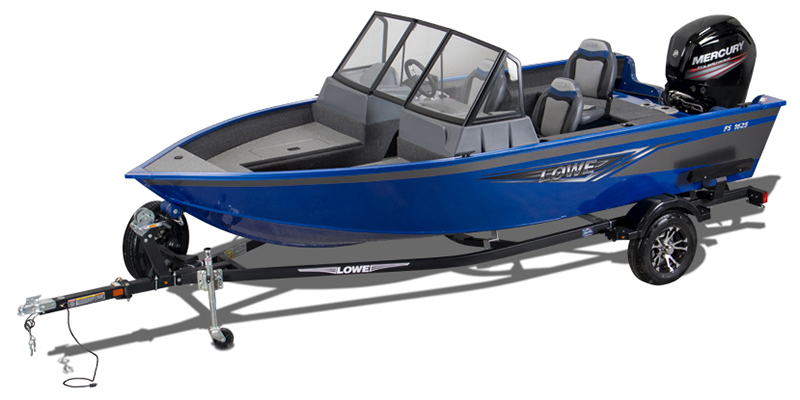 2021 Lowe Fish and Ski 1625 at DT Powersports & Marine