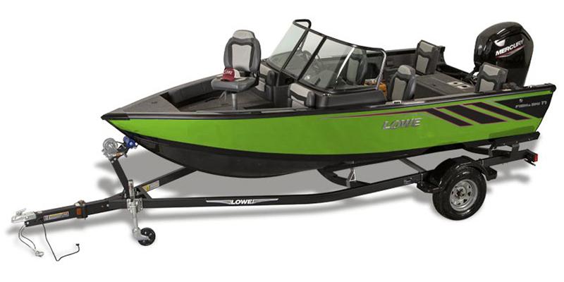 2021 Lowe Fish and Ski 1700 at DT Powersports & Marine