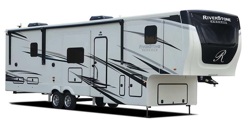 Riverstone Reserve 3950FWK at Prosser's Premium RV Outlet