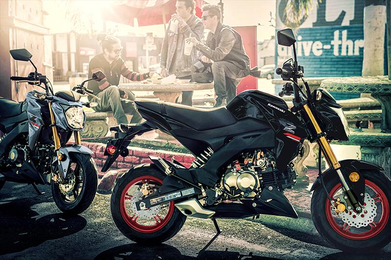 2021 Kawasaki Z125 PRO Base at Martin Moto