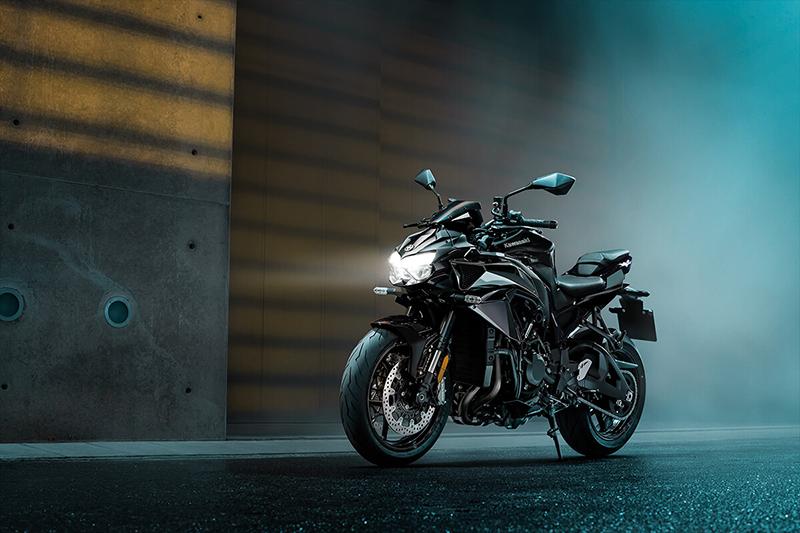 2021 Kawasaki Z H2 Base at Martin Moto