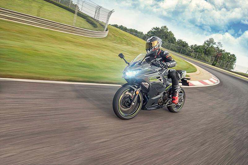 2021 Kawasaki Ninja 400 ABS Metallic Gray/Metallic Magnetic Dark Gray ABS at Martin Moto