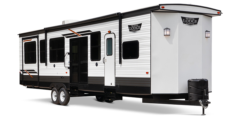 Wildwood Lodge 42QBQ at Prosser's Premium RV Outlet