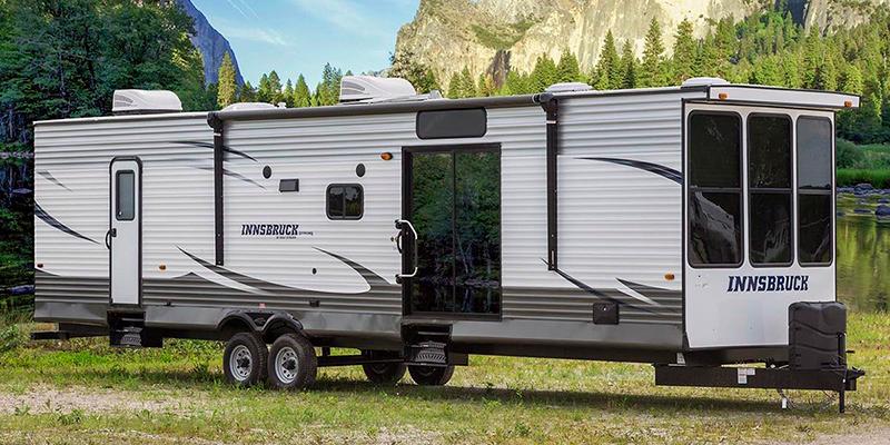 Kingsport Lodge 406FLR at Prosser's Premium RV Outlet