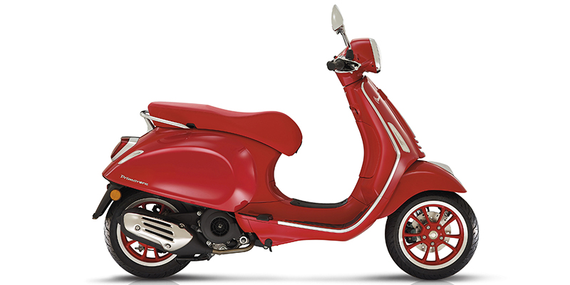 2021 Vespa Primavera 150 Red at Powersports St. Augustine